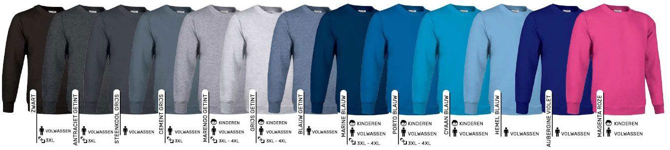 Sweaters bedrukken of laten borduren