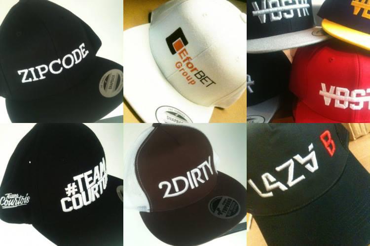 Caps borduren of bedrukken